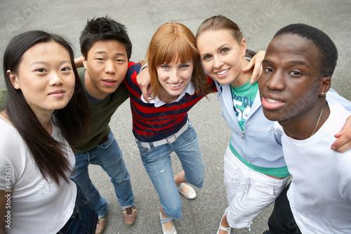 Fotografía  Amigos multiculturales