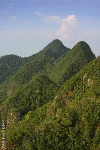 Fototapety, obrazy: mountain peaks-vertical format