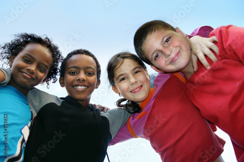 Fotografija  children diversity