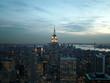 new york / manhattan bei nacht