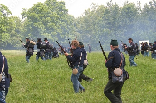Fotografija civil war re-enactment