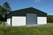Newly Constructed Barn