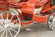 canvas print picture - carriage