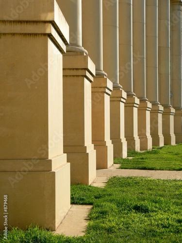 Leinwand Poster colonnades