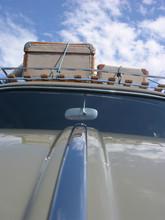 Gepäck Auf Dem Dach