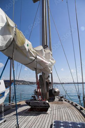 Foto op Plexiglas Water Motor sporten sailboat