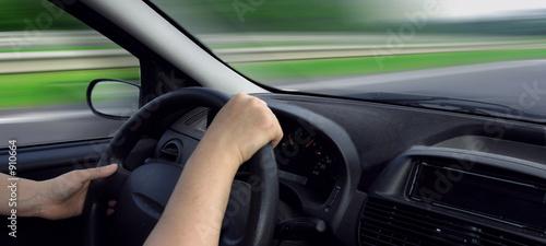 Fotomural conduire