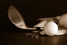 Golf Essentials/ B/w