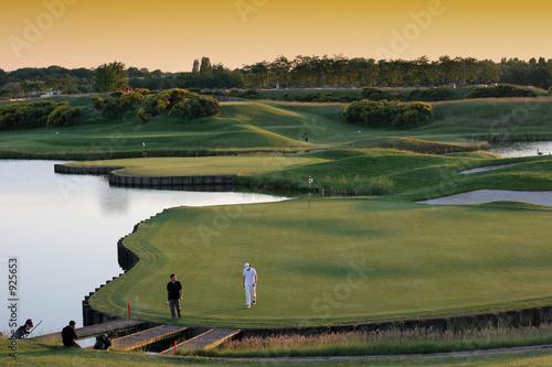 Obraz na plátně golf national paris france