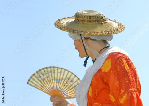 Photo Femme en costume folklorique