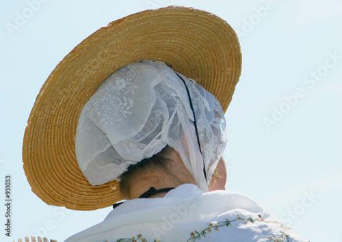 coiffe et chapeau Canvas Print