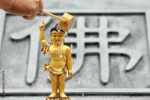 Fényképezés bathe the buddha