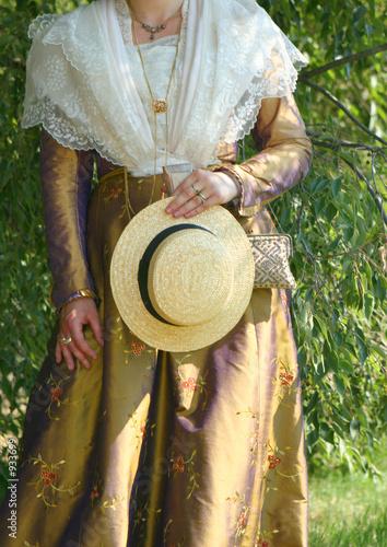 costume traditionnel Canvas Print