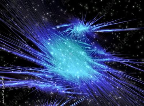 blue fantastic flash