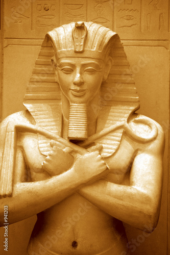 einzelne bedruckte Lamellen - sphinx (von Akhilesh Sharma)