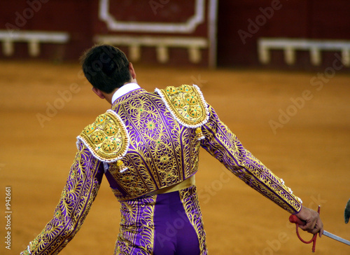 Photo Stands Bullfighting torero