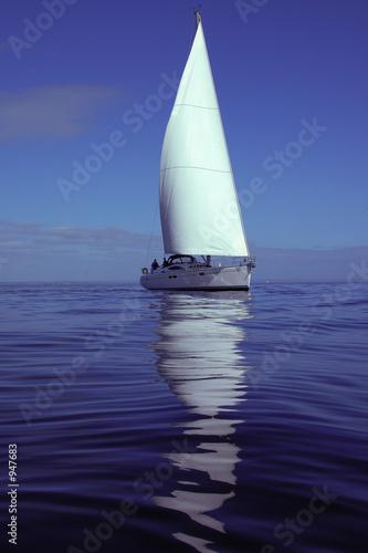 Tuinposter Zeilen summer sailing