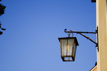 Lantern On Blue Sky
