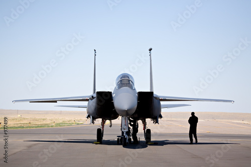 f-15 strike eagle Fototapete