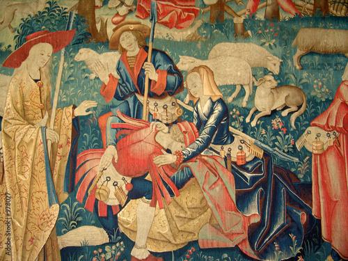 Fotografie, Obraz tapestry detail