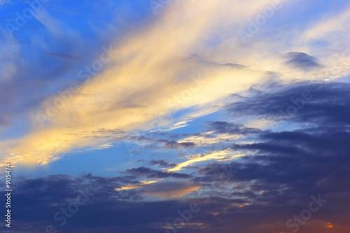 Fototapeta sky and clouds obraz na płótnie