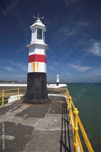 Canvas Print ramsey lighthouse