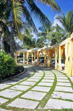 Poolside Cabana Row