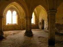 Arches At Lacock Abbey
