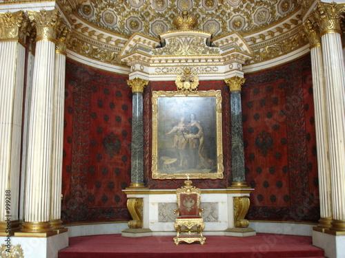 Slika na platnu throne