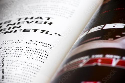 music magazine Tablou Canvas