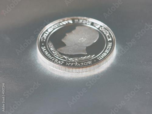 Photo silver coin