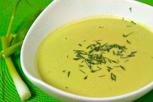 Fotografie, Obraz  fresh pea soup