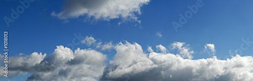 Türaufkleber Darknightsky panoramique nuageux
