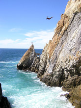 Cliff Diver Of Acapulco