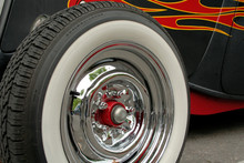 Hot Rod Chrome And Flames