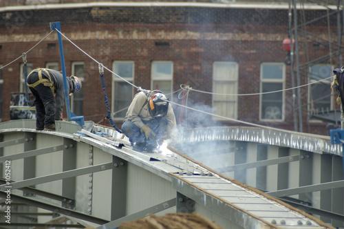 bridge steel welder Canvas-taulu
