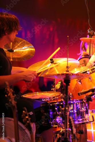 Leinwand Poster schlagzeuger/drummer
