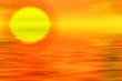 canvas print picture sunset landscape