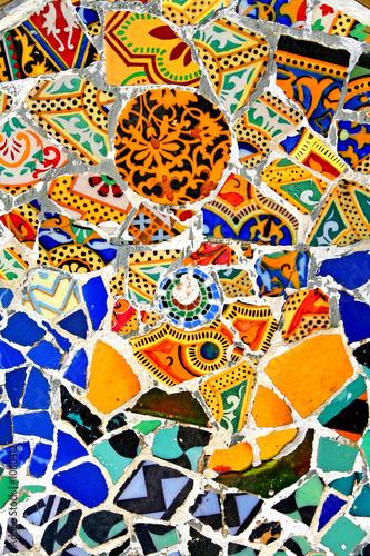 Fotografia  random mosaic pattern