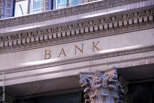 Fototapeta bank building obraz