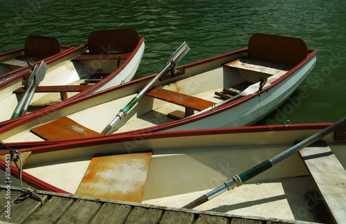 Photographie  rowboats