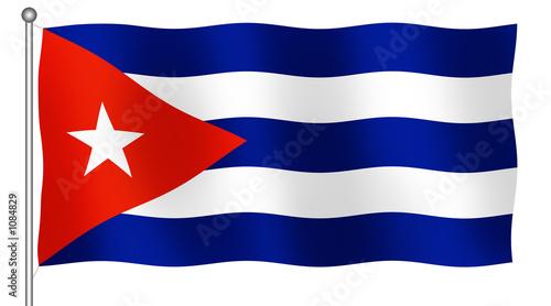 Valokuva  cuban flag