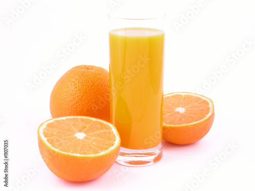 Keuken foto achterwand Sap orange juice