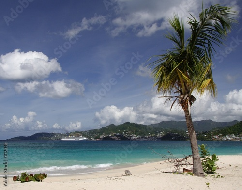 Photo Stands Caribbean cruising in paradise