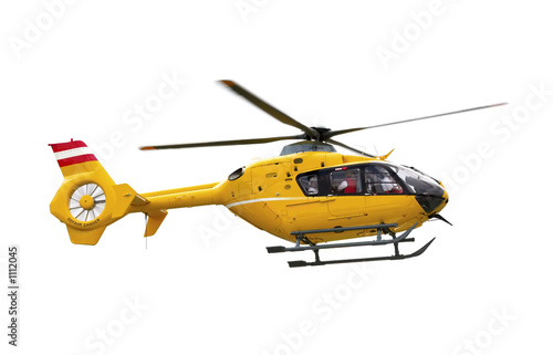 Photo Stands Helicopter yellow helicopter