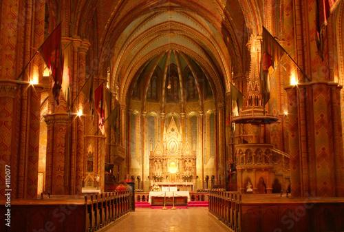 Fotografia church interior