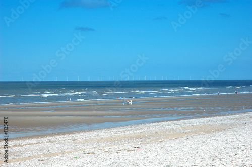 Canvas Prints Inspirational message beach under blue sky