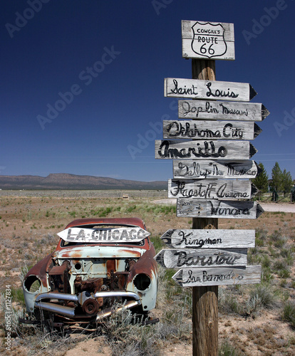 Papiers peints Route 66 undecided