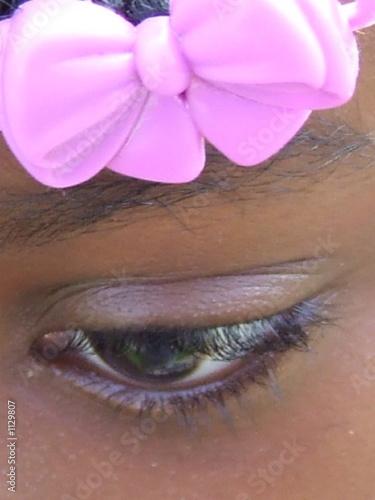 Foto op Plexiglas Beauty child eye