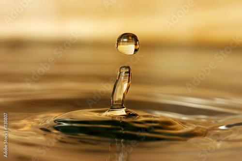 canvas print motiv - Jaroslav Machacek : water drop